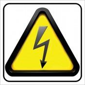 Πινακίδες για κίνδυνο ηλεκτροπληξίας