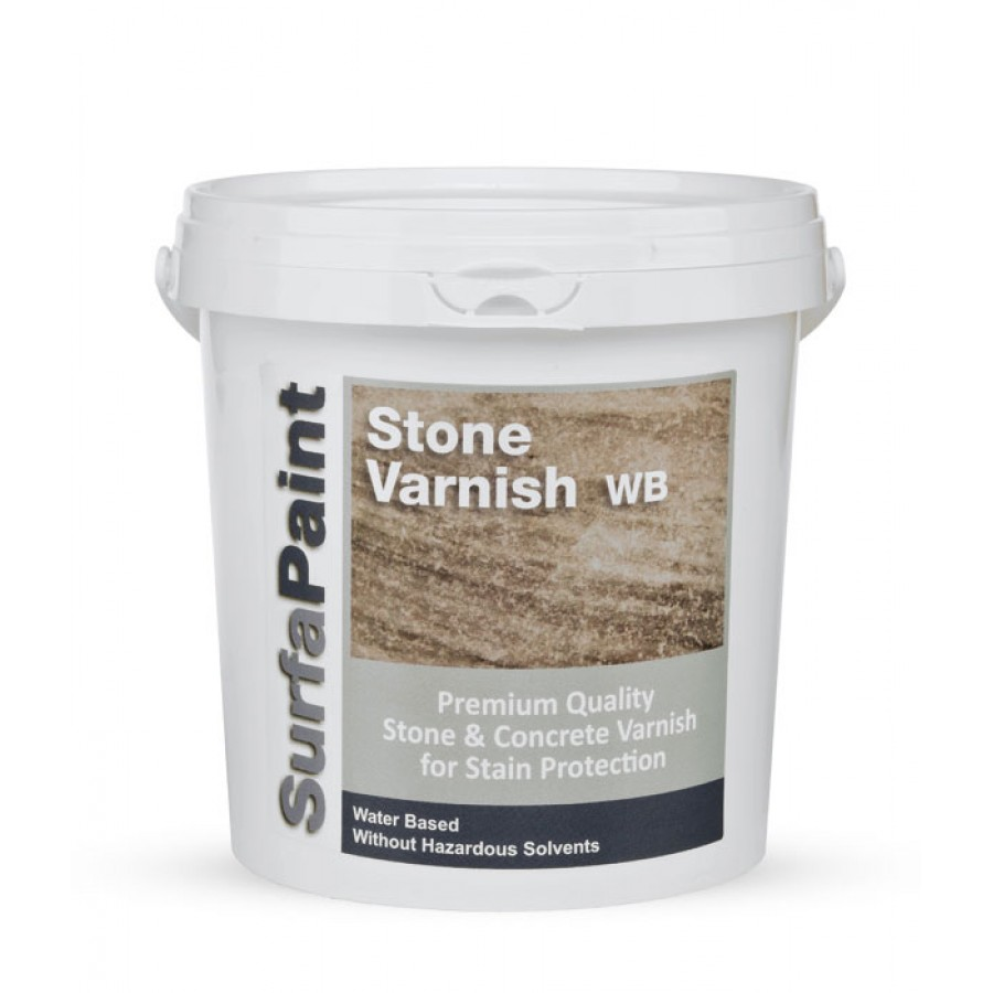 SURFAPAINT STONE VARNISH SATINE/MATTE Προστασία Δαπέδων Χρωματα - Μονωτικα - Εργαλεια